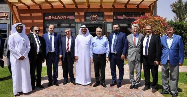 وزير الزراعة التركي في قطر