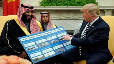 محمد بن سلمان يدفع لترامب