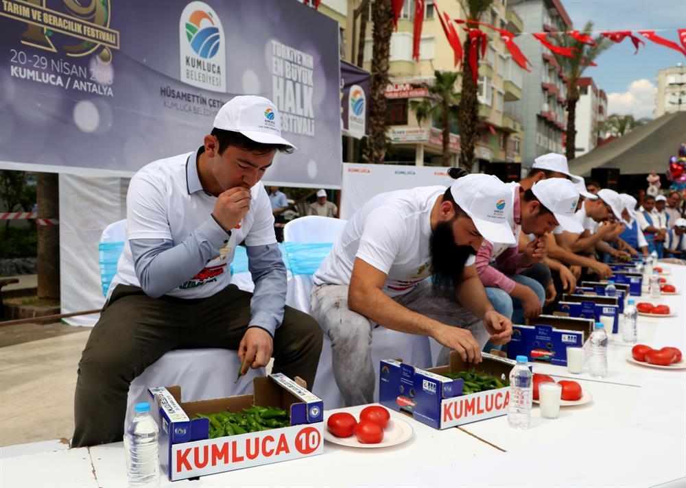 مسابقة الفلفل الحار في تركيا 3