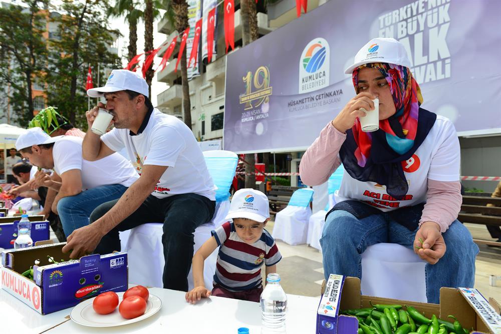 مسابقة الفلفل الحار في تركيا