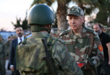 أردوغان بالبدلة العسكرية