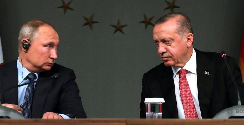 أردوغان و بوتين