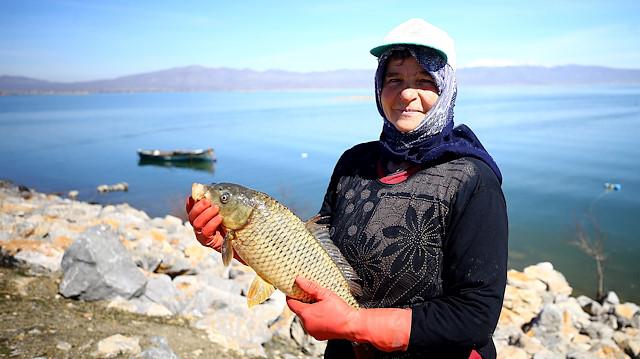 صيد السمك في تركيا