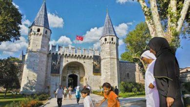 سياح سعوديون في تركيا