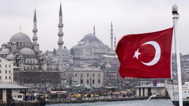 علم تركيا إسطنبول