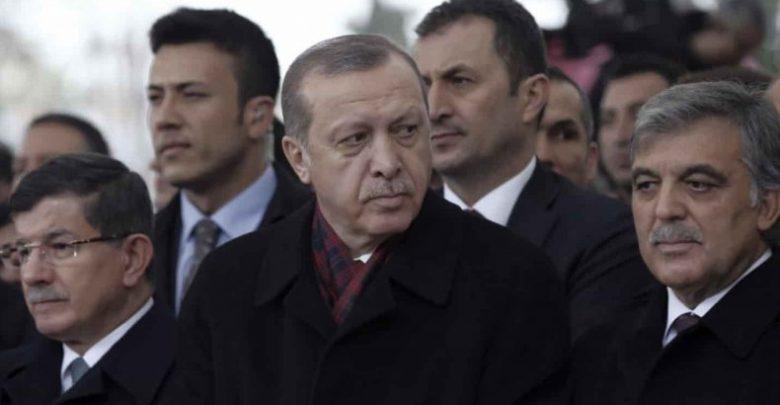 أردوغان و داود أوغلو و غل