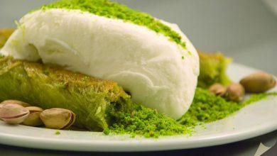 مثلجات تركية