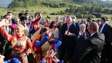 أردوغان يرقص